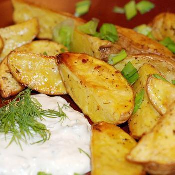 Картопля по-селянськи у духовці
