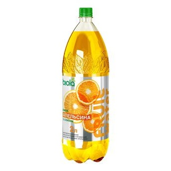Biola Orange Highly Carbonated Drink 2l - buy, prices for CityMarket - photo 1