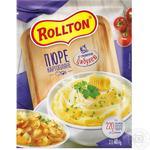Пюре картопляне Роллтон зі смаженою цибулею швидкого приготування 40г