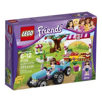 Конструктор LEGO Френдс Сбор урожая для детей от 6 до 12 лет 233 детали