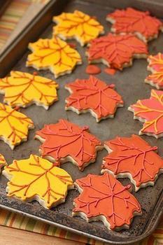 Печенье «Осенние листики»