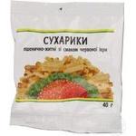 Kozhen den with red caviar flavor wheat-rye crisps 40g