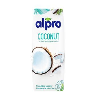 Напиток кокосовый Alpro оригинальный без добавления сахара* 250мл