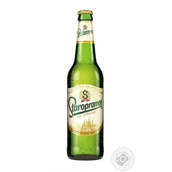 Пиво Staropramen світле 0,5л скло