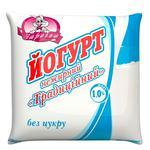 Йогурт Заріччя нежирний традиційний 1,0% 400г