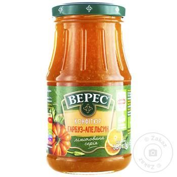 Veres Pumpkin-Orange Confiture 380g - buy, prices for Tavria V - image 1