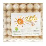 Яйце куряче Діброва Агро Сонце на тарілці першої категорії С1 30шт