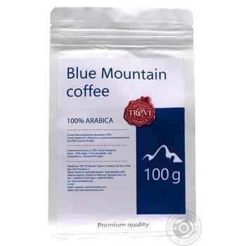 Кава в зернах Треві Арабіка Блю Маунтін 100г