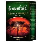 Чай черный Greenfield Kenyan Sunrise крупнолистовой 100г