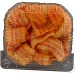 Чипсы Жайвир со вкусом бекона полоски фигурные весовые
