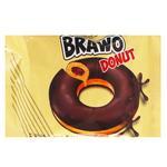 Пончик Brawo Donut з начинкою какао у глазурі 50г