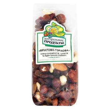 Суміш фруктово-горіхова Натуральні продукти 200г - купити, ціни на CітіМаркет - фото 1