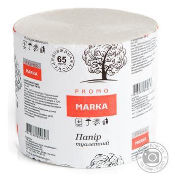 Папір туалетний із 100% макулатури Marka Promo