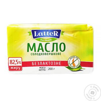 Latter Lactose Free Butter 200g - buy, prices for Novus - image 1