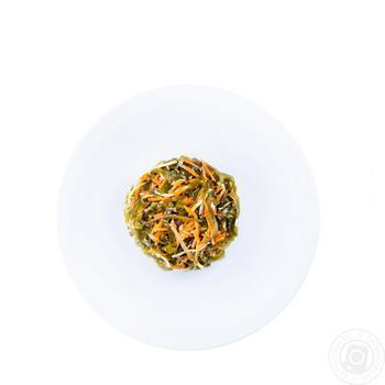 Капуста морська з морквою та селерею (Виробництво) ваг