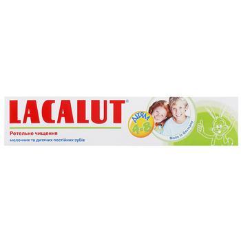 Зубна паста Lacalut дитяча 4-8 років 50мл - купити, ціни на Varus - фото 1