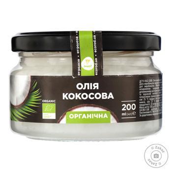 Масло кокосовое Экород органическое 200мл