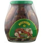 Mushrooms milk mushroom Toredo pickled 580ml glass jar