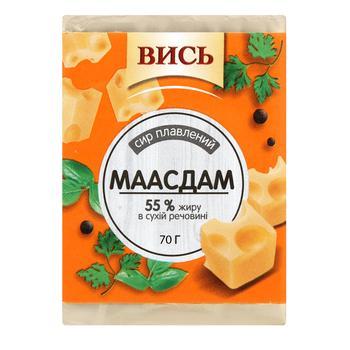 Сыр плавленый Высь Мааздам 55% 70г