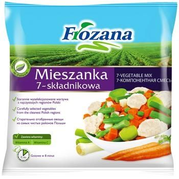 Овощная смесь Frozana 7-овощная 400г - купить, цены на Varus - фото 1