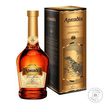 Shustoff Arkadia K.V.V.К. vintage 8yrs cognac 41% 0,5l