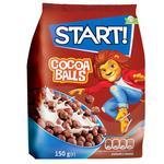 Сухие завтраки Start! шарики с какао 500г
