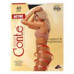 Колготы Conte Active 40 ден женские черные р.2