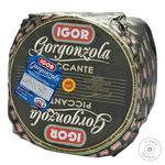 Сыр Igor Горгонзола пиканте весовой 48%