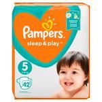 Diapers Pampers Sleep & Play 5 Junior 11-16kg 42pcs