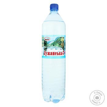 Вода Лужанская №7 газированная 1,5л - купить, цены на Novus - фото 1