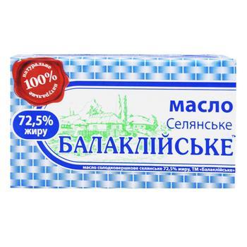 Масло Балаклейское крестьянское 72,5% 200г - купить, цены на Восторг - фото 2