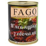 Fago Stew Chicken with Vegetables 340g