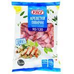 Креветки Vici в панцире варено-мороженые 90/120 1кг