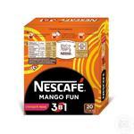 Напиток кофейный Nescafe 3в1 Mango Fun растворимый в стиках 20*13г