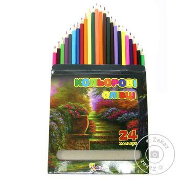 Neznayka Color Pencils 24 colors