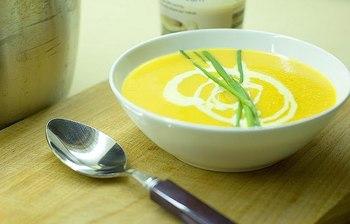 Чечевичный суп с сыром