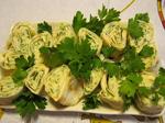 Лаваш с зеленью к шашлыку