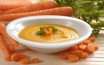 Морковный суп-пюре с медом