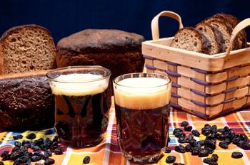 Хлебный квас с дрожжами