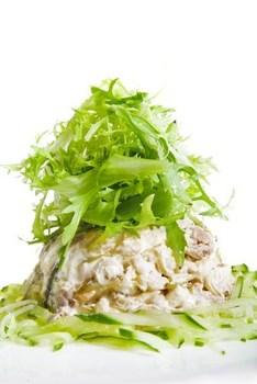 Салат «Святковий» з рибою
