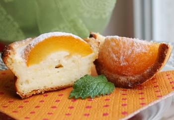 Творожник с абрикосами