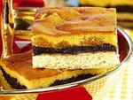 Фруктовый маковый пирог
