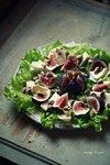 Салат з інжиру і груші