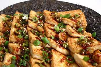 Жареный тофу по-китайски