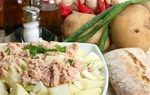 Картопляний салат з тунцем