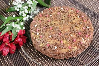 Простой медовый торт на сковороде