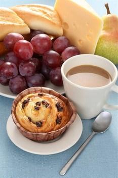 Виноградные кексы с десертным вином