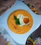 Абрикосовый суп с рисом и орехами
