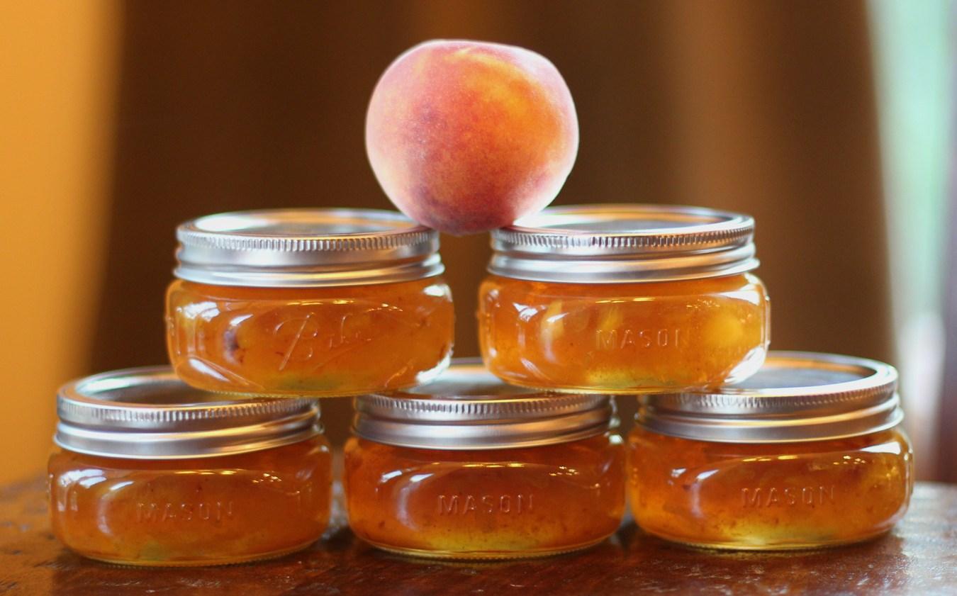 Персиковое варенье