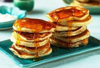 Быстрые оладьи к завтраку